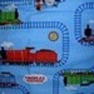 Thomas Train 2 Pic Set  Kinder Nap Mat Pad Cover w/Name