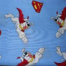 MadieBs Kryton Super Friends Dog  Cotton Personalized Custom  Pillowcase  w/Name
