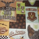 MadieBs Air Control Squadron  Cotton Personalized Custom  Pillowcase  w/Name