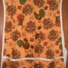 MadieBs Hens and Roosters Fall Colors Cotton New Custom Smock Cobbler Apron