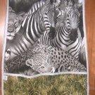 MadieBs Zebra Lion Africa Cotton New Custom Smock Cobbler Apron