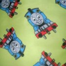 MadieBs Set of 2  Thomas the train Flannel Fitted  Cotton  Crib Sheets