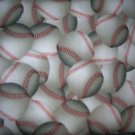 MadieBs Set of 2  BaseBalls BaseBall  Fitted  Cotton  Crib Sheets