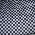 MadieBs Set of 2  Small Black and White Check  Fitted  Cotton  Crib Sheets