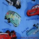 MadieBs Set of 2  McQueen  Mater Sheriff  Blue  Fitted  Cotton  Crib Sheets