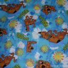 MadieBs Set of 2 Scooby Doo Aqua Fitted  Cotton  Crib Sheets