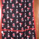 MadieBs Multi Red and Black Beary Hearts   Cotton New Custom Smock Cobbler Apron