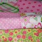 MadieBs John Deere  Pink Plaid   Custom Crib Set New