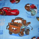 Blue Cars 3 Piece Set  Kinder Nap Mat Pad Cover w/Name
