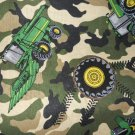 MadieBs John Deere Tractor Camo Nap Mat Pad Cover w/Name