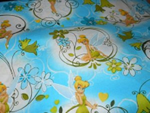 MadieBs Tinkerbell Cotton Nap Mat Pad Cover w/Name