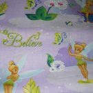 MadieBs Tinkerbell and Butterflies Cotton Nap Mat Pad Cover w/Name