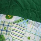 MadieBs John Deere  with Green Custom  Toddler Bed  Quilt Blanket
