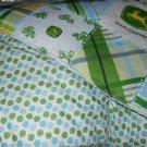 MadieBs John Deere with Dots Custom  Baby Bed Quilt Blanket