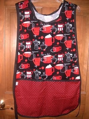 MadieBs Coffee Cups Java Custom Smock Cobbler Apron