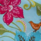 MadieBs Pretty Flowers Sweet Lil Bird  Cotton  Custom  Pillowcase  w/Name