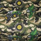 MadieBs John Deere Tractor CamoToddler Bed Sheet Set 3 Pc