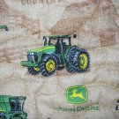 MadieBs John Deere Tractor in Brown  Blanket w/ toddler pillowcase personalized/Name