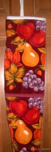 MadieBs Mixed Fruits Plastic Bag Holder Dispenser