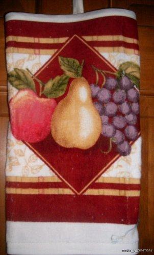 MadieBs Pear Apple Grapes Plastic Bag Holder Dispenser