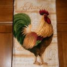 MadieBs  Rooster  Chantlier  Plastic Bag Holder Dispenser