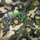 MadieBs Set of 2 John Deere Tractor Camo New Custom Fitted  Cotton Crib Sheets
