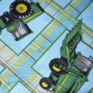 MadieBs Set of 2 John Deere Tractor New Custom Fitted  Cotton  Crib Sheets