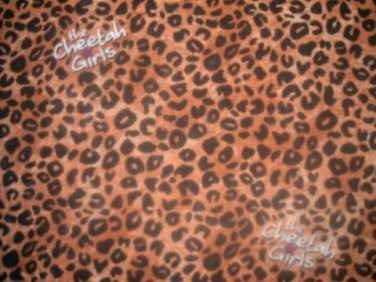 MadieBs Cheeta Spot  Fitted  Crib Sheet Custom New