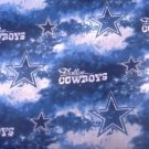 Madiebs Dallas Cowboys NFL Clouds  Custom Toddler Bed Quilt