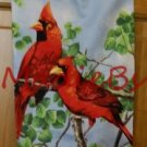 MadieBs Beautiful Red Cardinals Plastic Bag Holder Dispenser