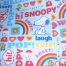 MadieBs Snoopy Happiness Cotton Fitted  Crib Sheet Custom New