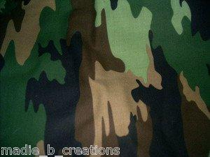 MadieBs Hunters Camo Fitted  Crib Sheet Custom New