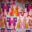 MadieBs Castles and Princess Fitted  Crib Sheet Custom New