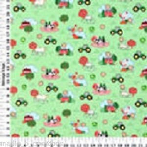 MadieBs John Deere Cute  Fitted  Crib Sheet Custom New