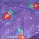 MadieBs Ariel Mermaid Princess. Cotton Personalized Custom Standard Pillowcase
