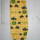 MadieBs John Deere Yellow Plaid Plastic Bag holder New