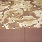 MadieBs Brown Tan Camo Cotton Personalized Custom  Pillowcase  w/Name