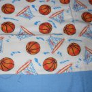 MadieBs Basketballs Hoops Flannel Cotton Personalized Custom  Pillowcase  w/Name