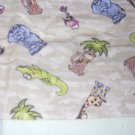 MadieBs Crocs Elephants Flannel Cotton Personalized Custom  Pillowcase  w/Name