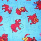 MadieBs Clifford the Big Red Dog Cotton Personalized Custom  Pillowcase  w/Name