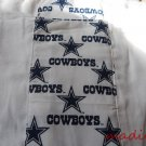 MadieBs Burp Pads Set of 2 Cotton Dallas Cowboys Custom New