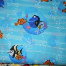 MadieBs Nemo and Dory Cotton Personalized Custom  Pillowcase