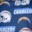 MadieBs Set of 2  Chargers NFL Football   New Custom Fitted Cotton Crib Sheets