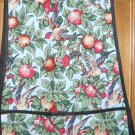 MadieBs Fruit Trees and Birds Cotton New Custom Smock Cobbler Apron