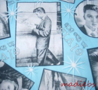 MadieBs Elvis Cotton Personalized Custom  Pillowcase  w/Name