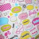 MadieBs Barbie Talk  Cotton Personalized Custom  Pillowcase  w/Name