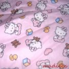 MadieBs Pink Hello Kitty  Cotton Personalized Custom  Pillowcase  w/Name