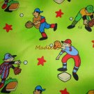 Madiebs  BaseBall Player  Toddler Bed Sheet Set CUSTOM