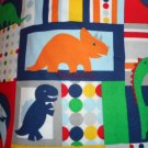Madiebs  Dinosaur Toddler Bed Sheet Set CUSTOM