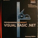 Programming Microsoft Visual Basic .NET Version 2003 (Book & CD-ROM) (Hardcover)